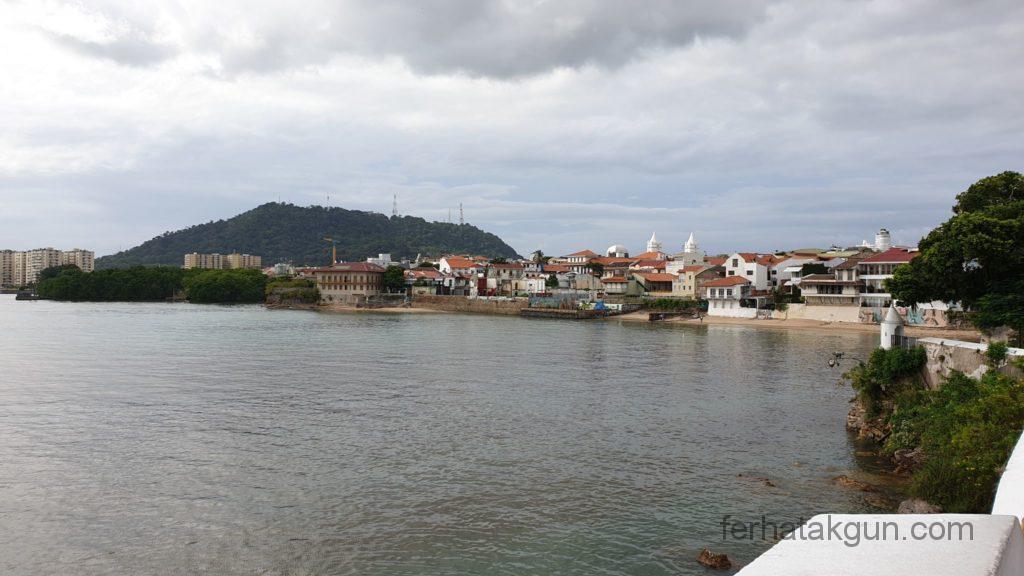 Panama City - Entlang der Promenade