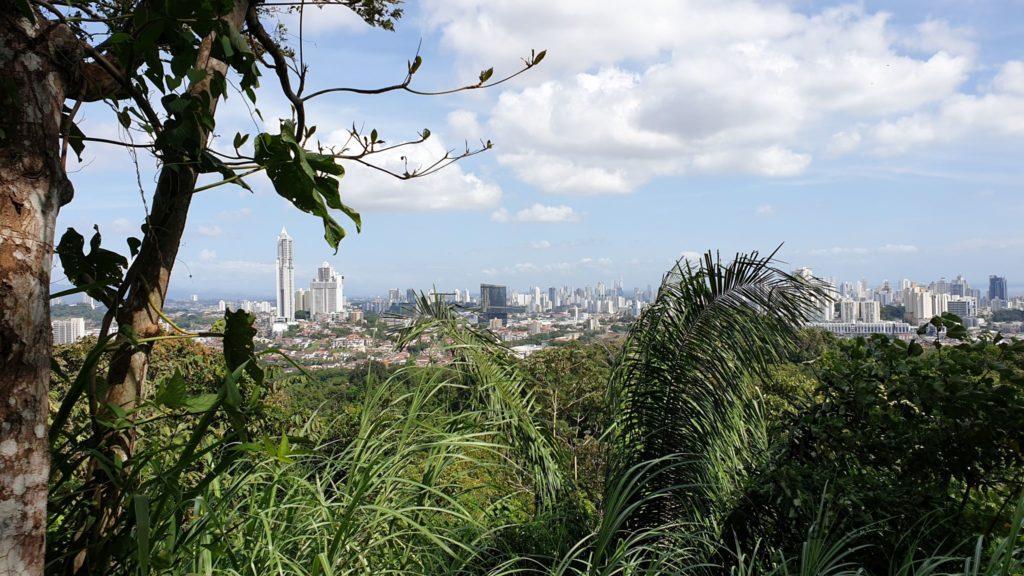 Parque Natural Metropolitano - Aussicht von oben