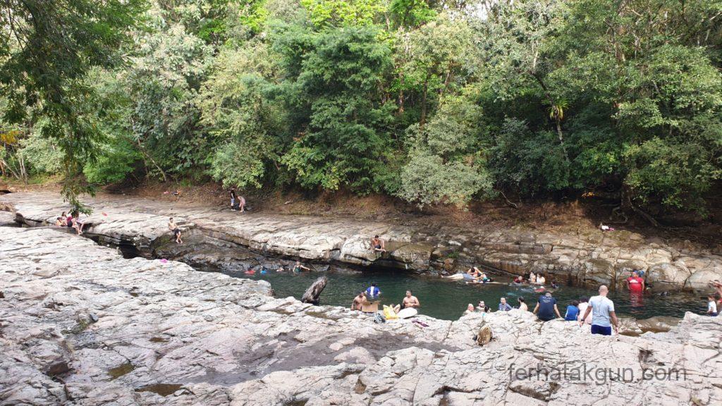 Los Cangilones De Gualaca - Erstes Becken am Eingang