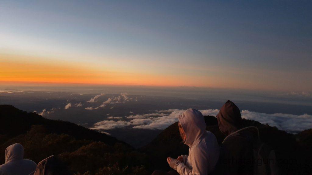 Volcán Barú - Sonnenaufgang