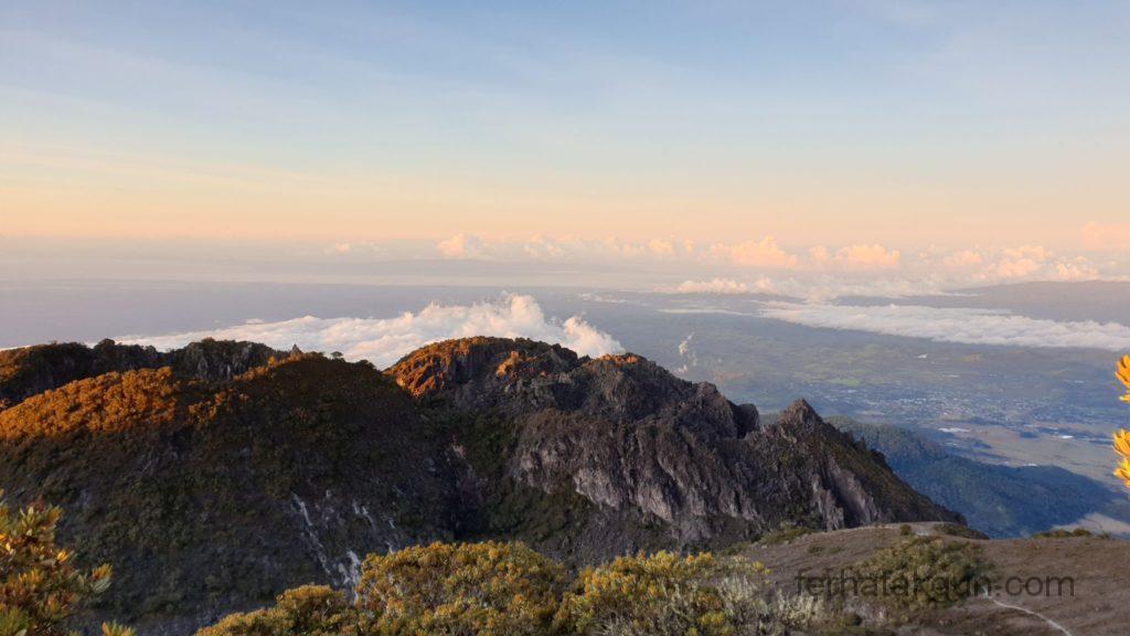 Volcán Barú - Über den Wolken