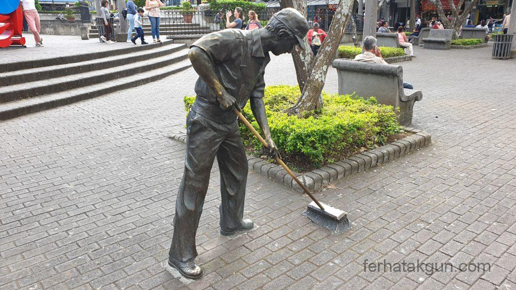 San Jose - Skulptur