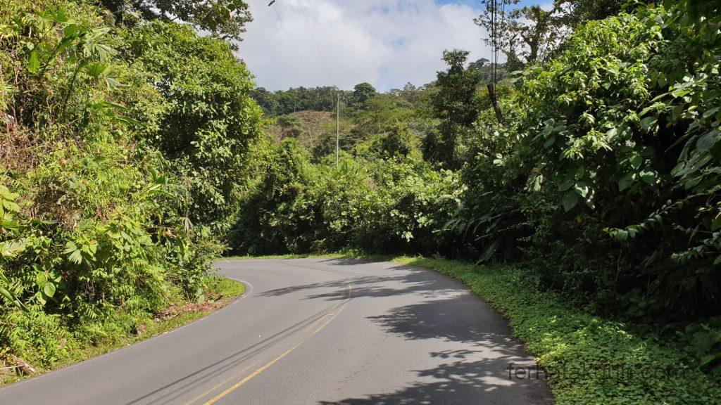 La Fortuna - Weg vom Volcan Arenal