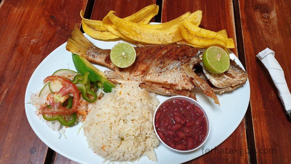 Nicaragua - San Juan del Sur Essen