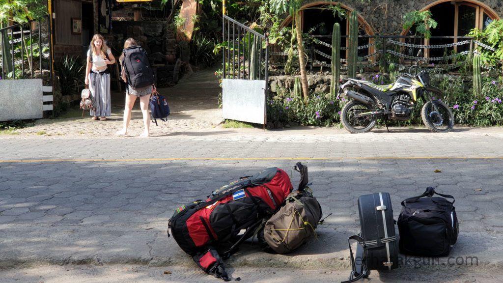 Nicaragua - Ometepe - Santa Domingo Abreise