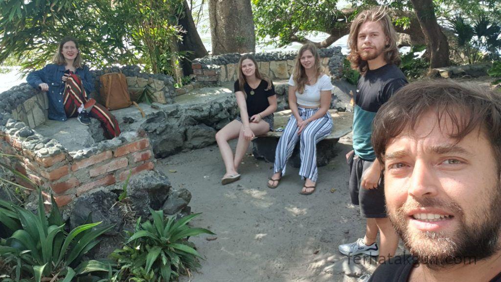 Nicaragua - Ometepe - Abreise Santa Domingo